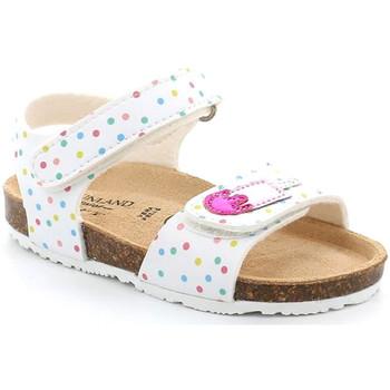 Schoenen Meisjes Sandalen / Open schoenen Grunland SB1719 Wit
