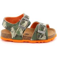 Schoenen Kinderen Sandalen / Open schoenen Grunland SB0386 Groen