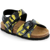 Schoenen Kinderen Sandalen / Open schoenen Grunland SB0969 Geel