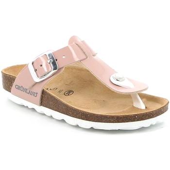 Schoenen Meisjes Slippers Grunland CB0928 Roze