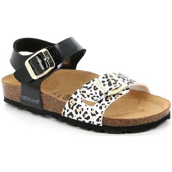 Schoenen Meisjes Sandalen / Open schoenen Grunland SB1525 Zwart