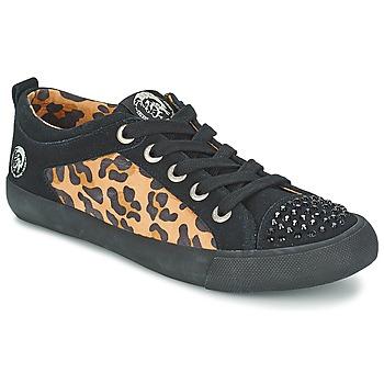 Schoenen Dames Lage sneakers Diesel LEOPAR Zwart