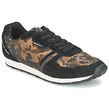 Schoenen Dames Lage sneakers Diesel CAMOUFLAGE Brown