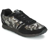 Schoenen Dames Lage sneakers Diesel CAMOUFLAGE Zwart