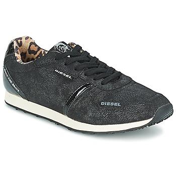Schoenen Dames Lage sneakers Diesel METAL Zwart