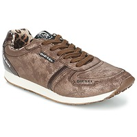 Schoenen Dames Lage sneakers Diesel METAL Brown