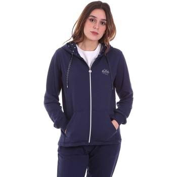 Textiel Dames Sweaters / Sweatshirts Key Up 5F741 0001 Blauw