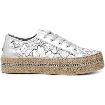 Schoenen Dames Lage sneakers Café Noir DG9520 Wit