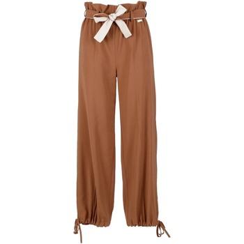 Textiel Dames Losse broeken / Harembroeken Café Noir JP6170 Bruin