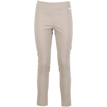 Textiel Dames Broeken / Pantalons Café Noir JP6230 Beige