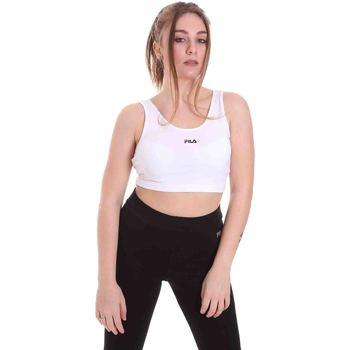 Textiel Dames Sport BHs Fila 688485 Wit