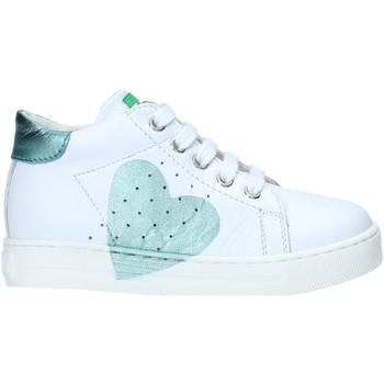 Schoenen Meisjes Hoge sneakers Falcotto 2012816 07 Wit