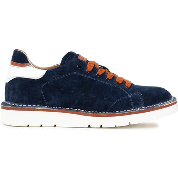 Schoenen Heren Lage sneakers Café Noir TS6010 Blauw