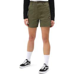 Textiel Dames Korte broeken / Bermuda's Dickies DK0A4XBXMGR1 Groen