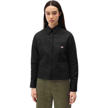 Textiel Dames Overhemden Dickies DK0A4XETBLK1 Zwart