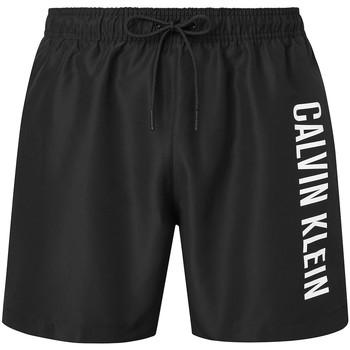 Textiel Heren Zwembroeken/ Zwemshorts Calvin Klein Jeans KM0KM00570 Zwart