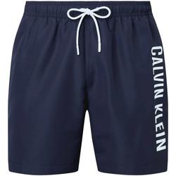 Textiel Heren Zwembroeken/ Zwemshorts Calvin Klein Jeans KM0KM00570 Blauw