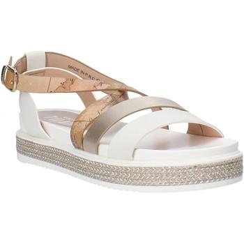 Schoenen Meisjes Sandalen / Open schoenen Alviero Martini 0578 0326 Wit
