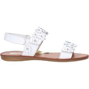 Schoenen Meisjes Sandalen / Open schoenen Naturino 502338 01 Wit