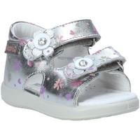 Schoenen Meisjes Sandalen / Open schoenen Falcotto 1500896 04 Zilver