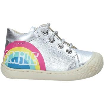 Schoenen Kinderen Lage sneakers Naturino 2015797 02 Zilver