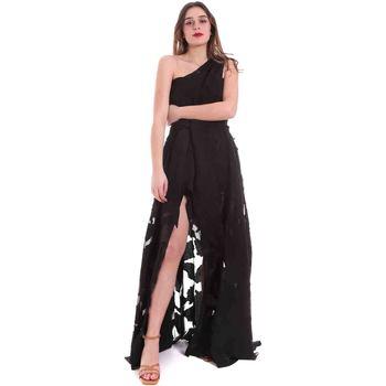 Textiel Dames Lange jurken Federica Tosi FTE20AB070.0CH0013 Zwart