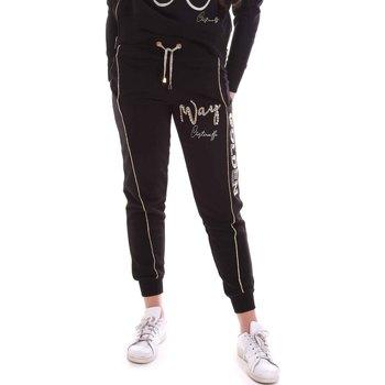 Textiel Dames Trainingsbroeken Cristinaeffe 4962 Zwart
