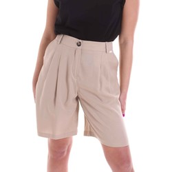 Textiel Dames Korte broeken / Bermuda's Café Noir JP6030 Beige
