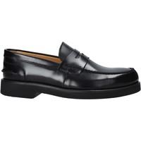 Schoenen Heren Mocassins Exton 2102 Zwart