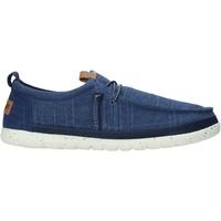 Schoenen Heren Mocassins Wrangler WM11141A Blauw