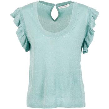 Textiel Dames Tops / Blousjes Café Noir JM6190 Groen