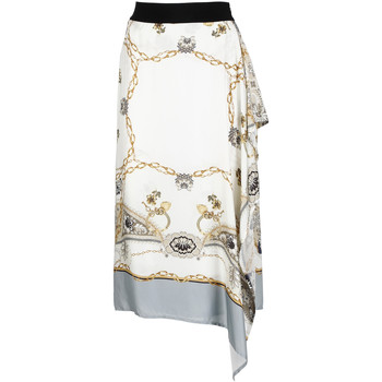 Textiel Dames Rokken Café Noir JO6080 Wit