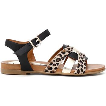 Schoenen Dames Sandalen / Open schoenen Café Noir GA1860 Zwart