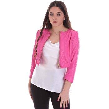Textiel Dames Jacks / Blazers Cristinaeffe 0303 2348 Roze