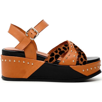 Schoenen Dames Sandalen / Open schoenen Café Noir HH1390 Bruin