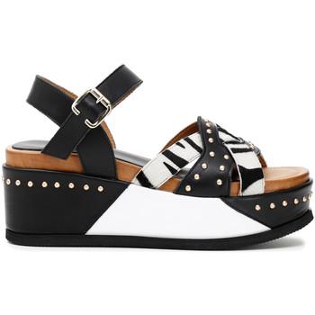 Schoenen Dames Sandalen / Open schoenen Café Noir HH1390 Zwart