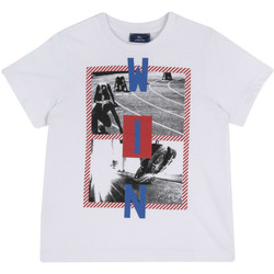 Textiel Kinderen T-shirts korte mouwen Chicco 09067134000000 Wit