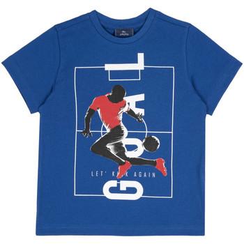 Textiel Kinderen T-shirts korte mouwen Chicco 09067134000000 Blauw