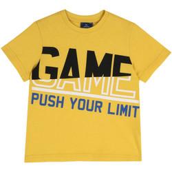 Textiel Kinderen T-shirts korte mouwen Chicco 09067134000000 Geel