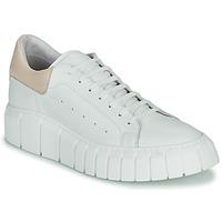 Schoenen Dames Lage sneakers Sweet Lemon PLANTO Wit / Beige