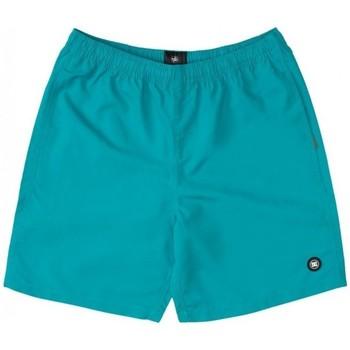 Textiel Jongens Zwembroeken/ Zwemshorts DC Shoes BAÑADOR PISCINA NIÑO DC EDBWS03069 Groen
