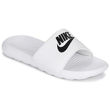 Schoenen Dames Slippers Nike VICTORI ONE Wit