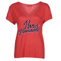 Textiel Dames T-shirts korte mouwen Ikks CARRY Rood