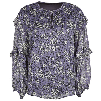 Textiel Dames Tops / Blousjes Ikks BABAR Blauw
