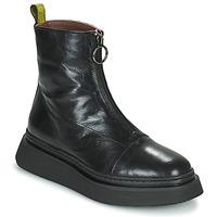 Schoenen Dames Laarzen Mjus BASE ZIP Zwart