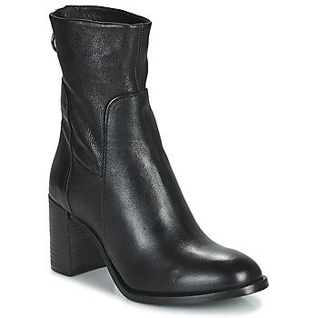 Schoenen Dames Enkellaarzen Mjus NITRO Zwart