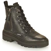 Schoenen Dames Laarzen Palladium Manufacture CULT 04 NAP Zwart
