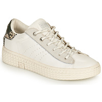 Schoenen Dames Lage sneakers Palladium Manufacture TEMPO 04 SYN Wit