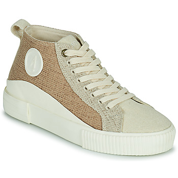 Schoenen Dames Hoge sneakers Armistice FOXY MID LACE W Beige
