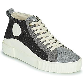 Schoenen Dames Hoge sneakers Armistice FOXY MID LACE W Zwart